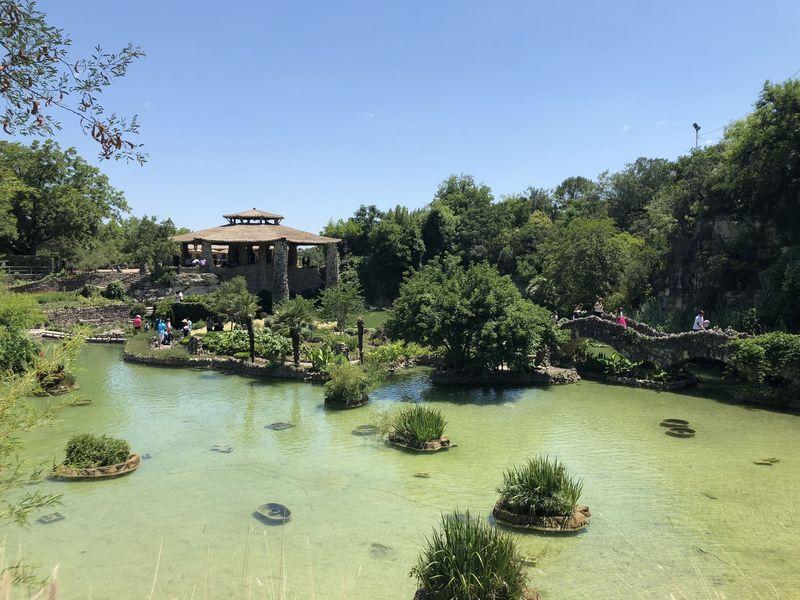 San Antonio's Japanese Tea Garden.