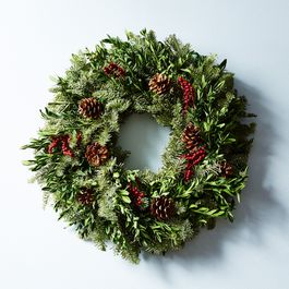Fir & Canella Berry Wreath