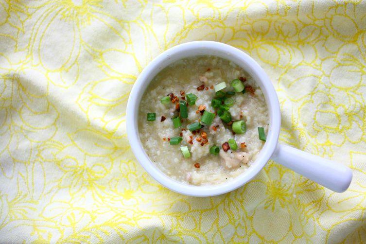 Filipino Chicken Porridge (Arroz Caldo)