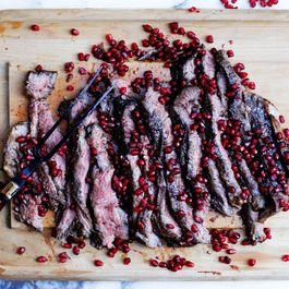 Pomegranate Flank Steak