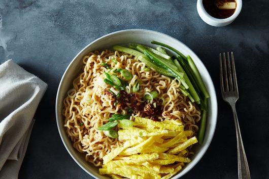 Sichuan Mouth-Numbing Cold Noodles