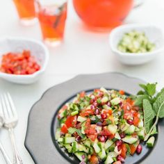 Bejeweled Kachumber Salad