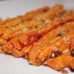 """Baked Carrot """"Fries"""""""