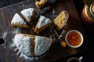 Irish-Inspired Soda Bread Gets a Mediterranean Touch (& Whole Grains)