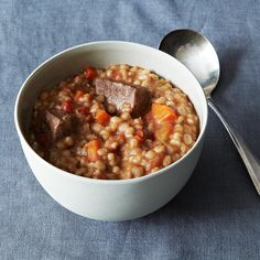 Old-Fashioned Beef and Barley Soup