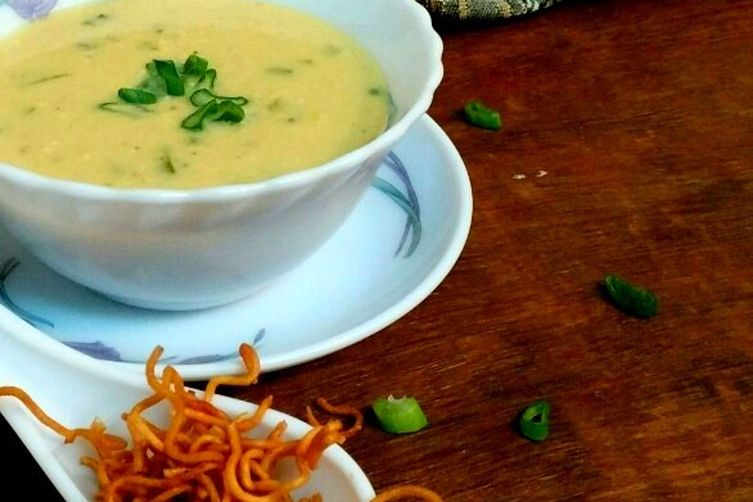 Corn and vegetable soup