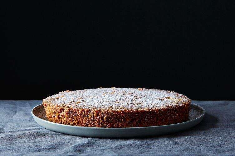 One beaut of an oat-flour cake.