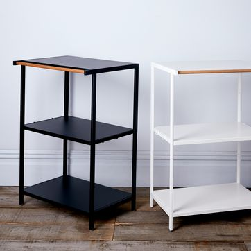 Steel & Wood 3 Tier Storage Rack by Yamazaki Home