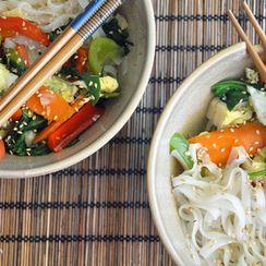 Korean-Inspired Noodles