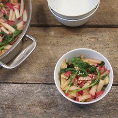 Stir-Fried Radish & Kohlrabi