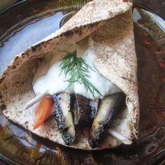 Grilled Portabello Gyros