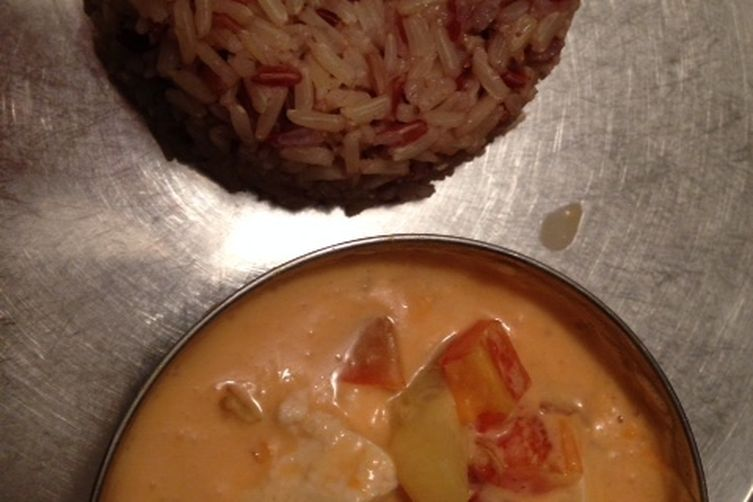 Quick Thai Curry with Wild Rice