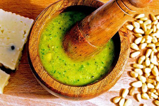 Pesto Sauce with a Sicilian twist.