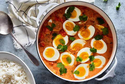 Love a Jammy Egg? This Coconutty Stew Is for You.