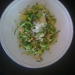 Crisp and Light Brussel Sprouts