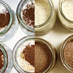 Madagascar Vanilla / Mexican Chocolate Chia Seed Pudding