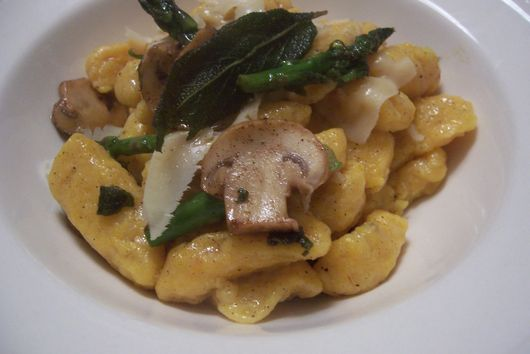 Browned Butter Sage Dressed Squash Gnocchi