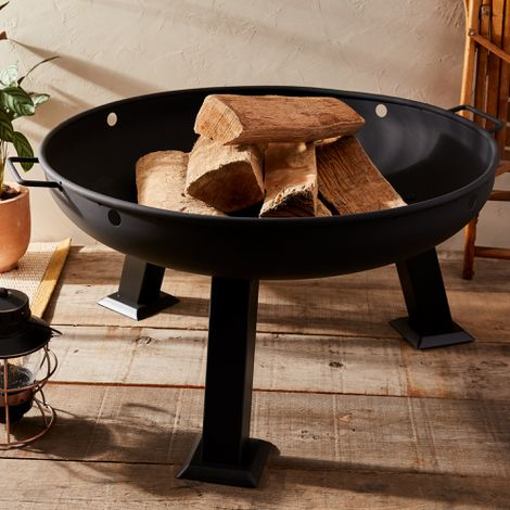 """Outdoor Portable 30"""" Fire Pit"""