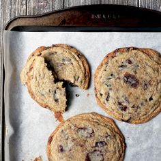 Black Garlic Chocolate Chip Cookies