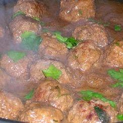 Veal Marsala Meatballs