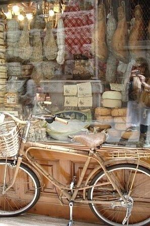Formaggi (Cheese and Bicycle)
