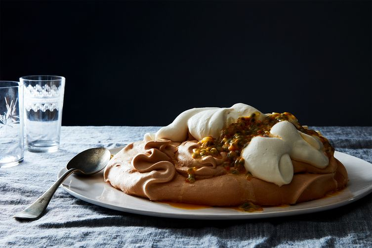 Eileen Park's Passion Fruit Pavlova