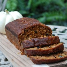Tropical Pumpkin Bread