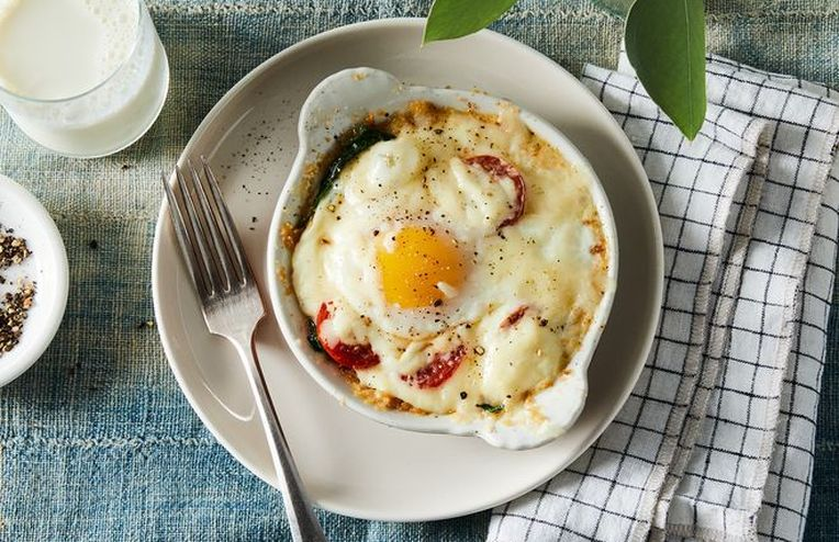 How Mom's Creamy Baked Eggs Became a Contest-Winning Recipe