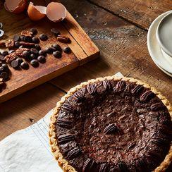 Last-Minute Chocolate Pecan Pie