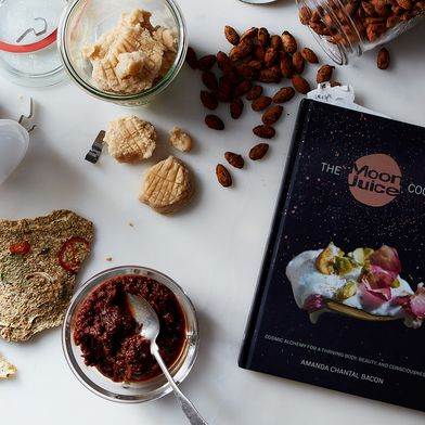 """My Cosmic Journey Through the Moon Juice Cookbook (Stinky Brown """"Food"""" and All)"""
