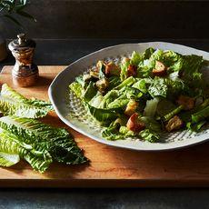 Traditional Vegan Caesar Salad