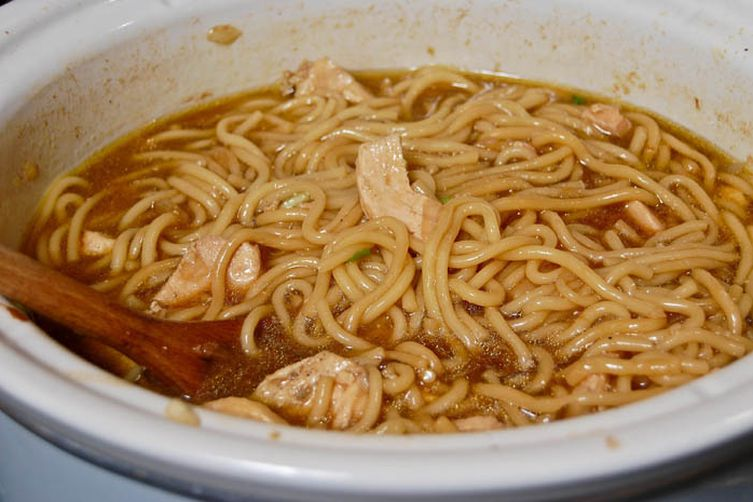 Chicken Noodle Soup w/ An Asian Twist