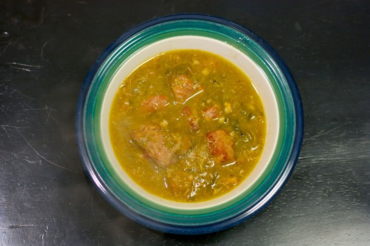 Roasted Green Chile and Pork Stew