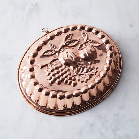 Vintage Copper French X-Large Mould, Early 20th Century