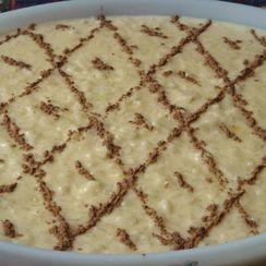 Ivone's Creamy Rice Pudding - Arroz Doce da Ivone