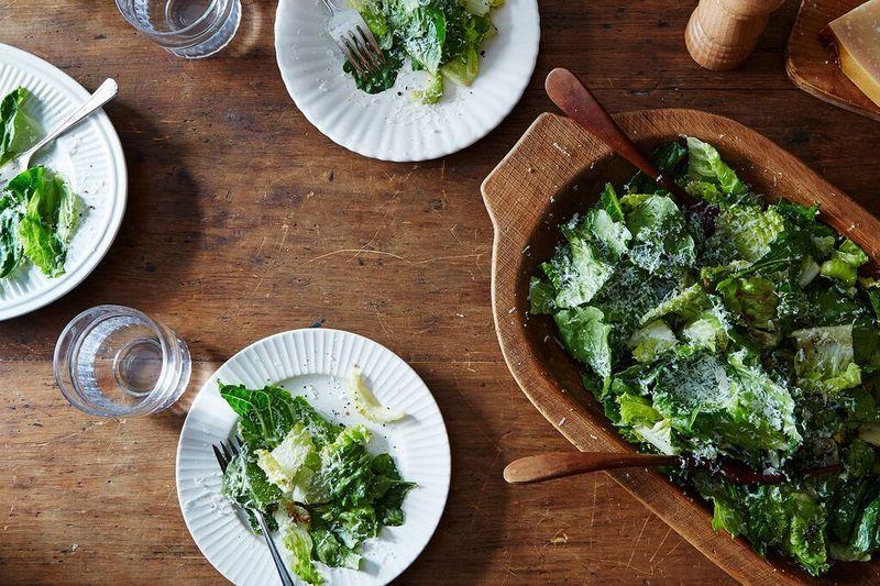 A Genius Caesar Salad from a Genius Dad