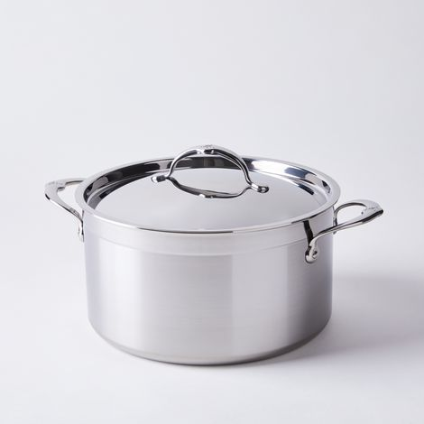 Hestan Probond Forged Stainless Steel Stock Pot with Lid, 8QT