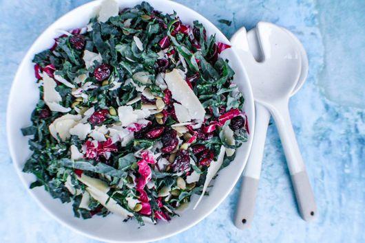 Easy Kale Chopped Salad