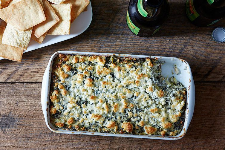 Spinach, Feta, and Artichoke Dip on Food52