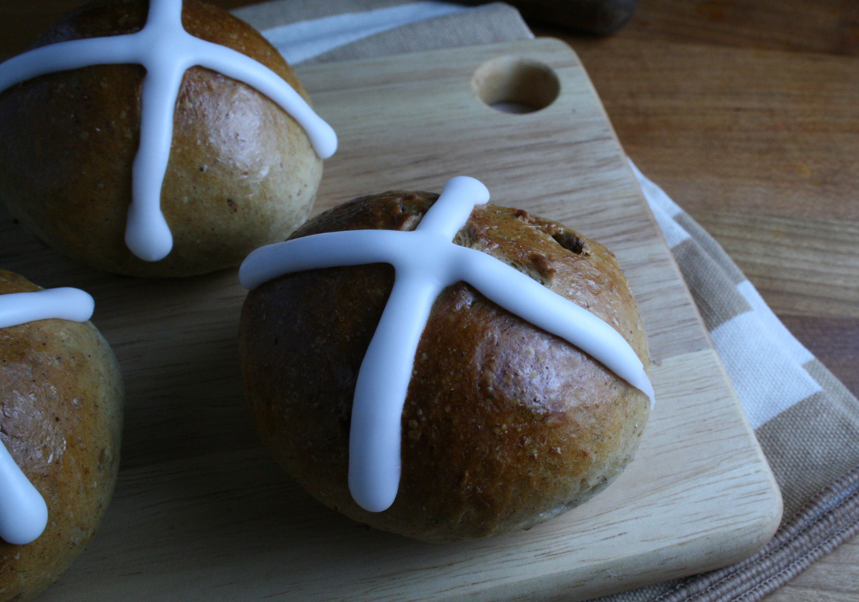 Hot cross buns by London Foodie in NY