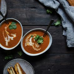 Tomato & Bacon Bisque