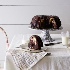 Rich Chocolate Cake with Coconut Filling and Ganache
