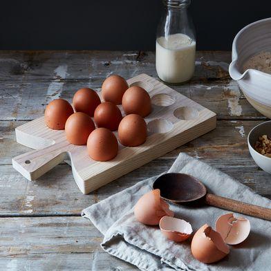 Ash Wood Egg Board
