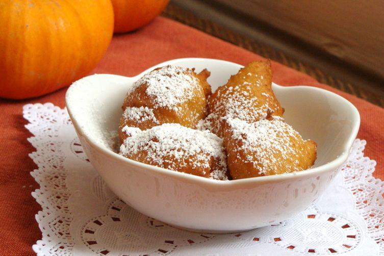 Ricotta Pumpkin Zeppole