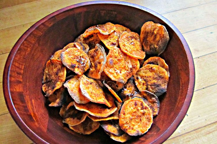 Seasoned Sweet Potato Chips