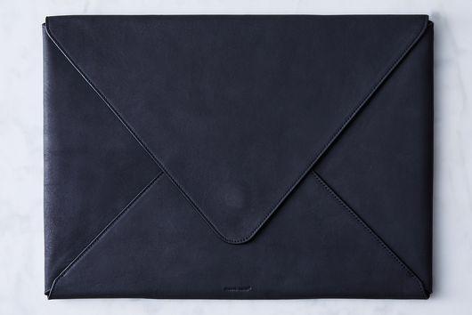 Leather Envelope Portfolio & Laptop Case