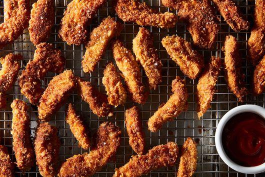 Cornflake Semi-Fried Chicken Tenders