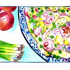 Potato Salad á la Cornwall