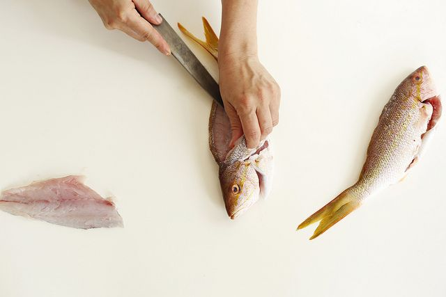 Filleting a Fish from Food52