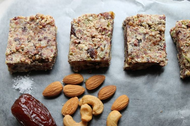 Nut date bars recipe on food52 for Food52 bar nuts